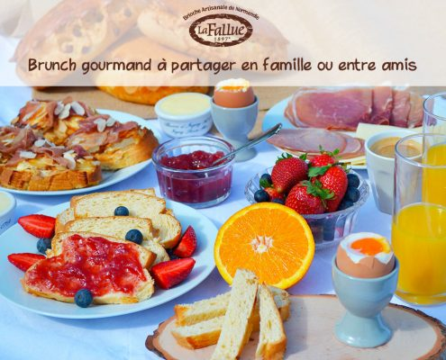 Brunch gourmand Mamie Normandie