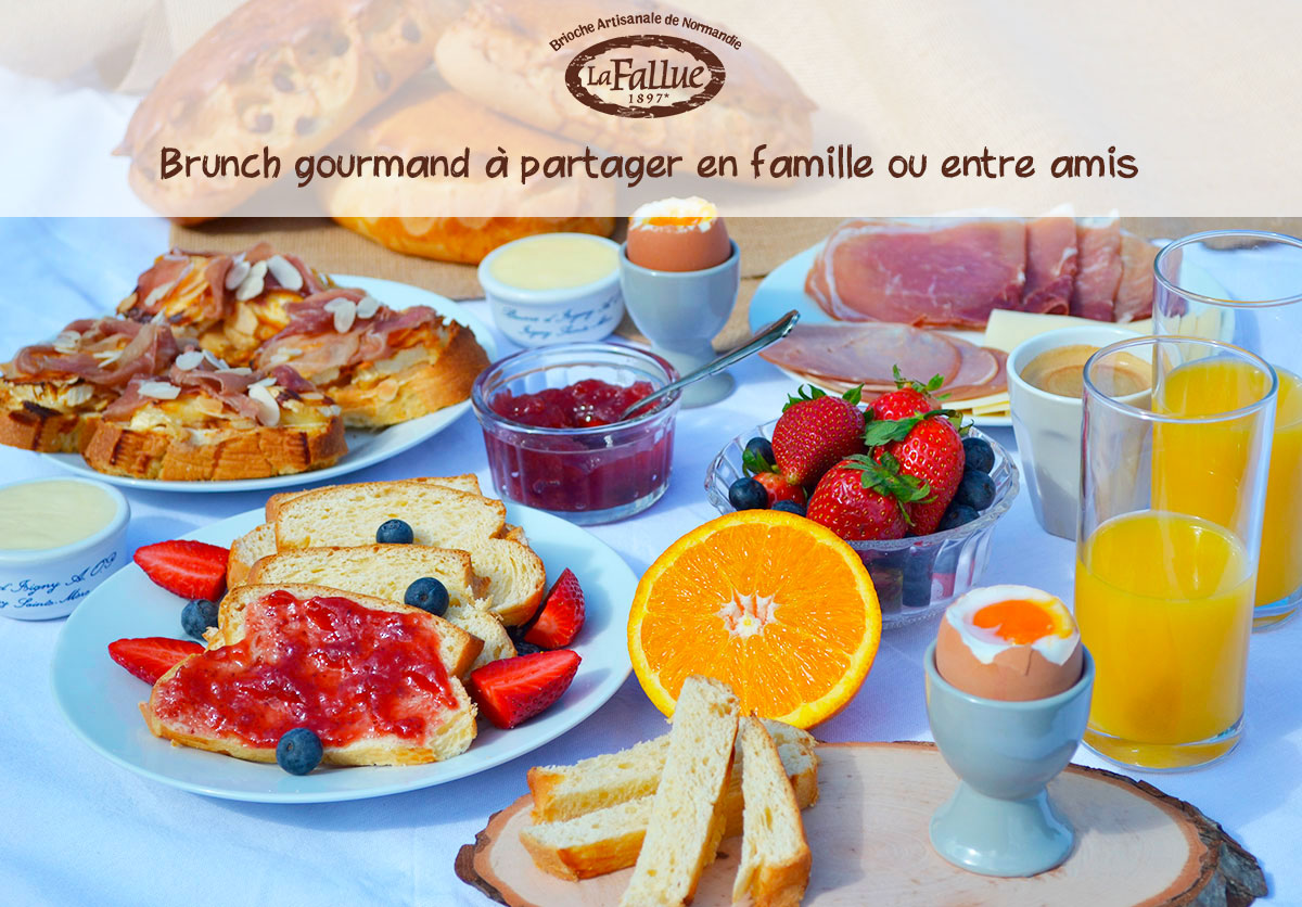 Brunch gourmand Mamie Normandie